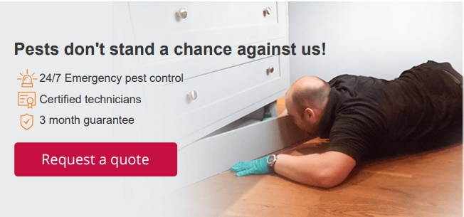 Bed bug control guarantee